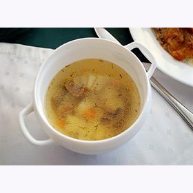 Суп грибной