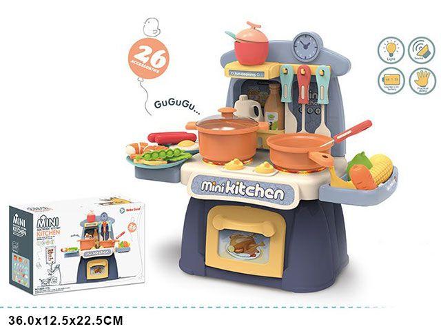 889-173 Детская игровая кухня mini со светом и звуками