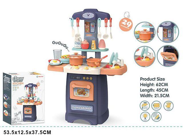 889-175 Игровой модуль детская кухня с водой, светом и звуками Fashion Kitchen