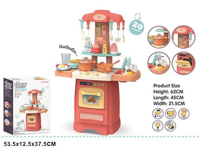 889-176 Игровой модуль детская кухня с водой, светом и звуками Fashion Kitchen