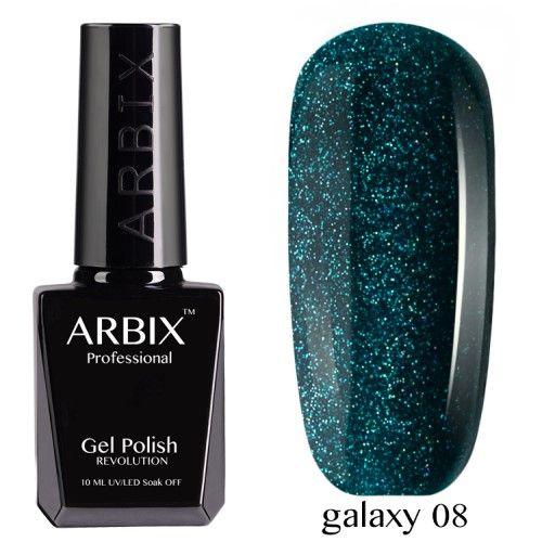 Гель-лак Arbix Galaxy 10 мл млечный путь 08