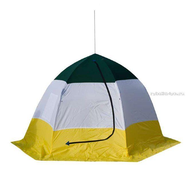 Палатка-зонт без дна СТЭК Elite 3-х местная / двухслойная (СТЭК - 47490)