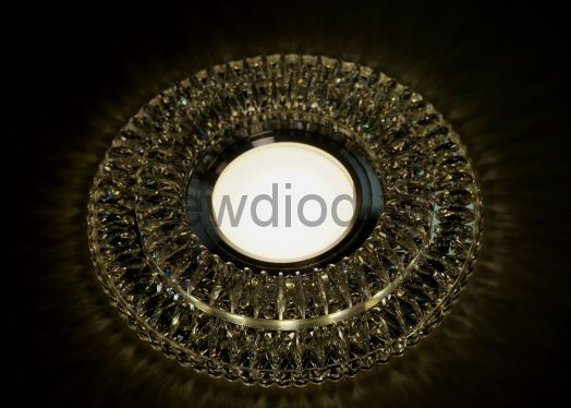 Точечный Светильник OREOL Crystal 8169 122/60mm под лампу MR16 Белый