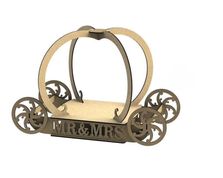 Декоративная карета mr & mrs