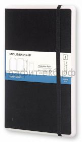 Книжка зап.Moleskine Large PAPER TABLET в точку черная PTNL34HBK01