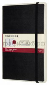 Книжка зап.Moleskine Large PAPER TABLET линейка черная PTNL31HBK01
