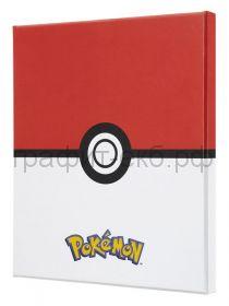 Книжка зап.Moleskine Large Pokemon коллекционный линейка белый/красный LEPOQP060CLT