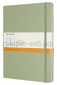 Книжка зап.Moleskine XLarge Classik линейка зеленая ива QP090K12