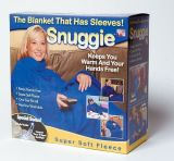Комплект одеяло-плед с рукавами Snuggle (Снагги), 3 шт.