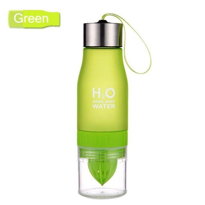 Бутылка-соковыжималка H2O Drink More Water, 650 мл