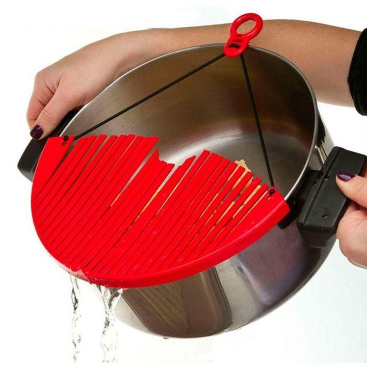 Дуршлаг-накладка для слива воды (кухонный фильтр) BETTER STRAINER (БИТТЕР СТРАЙНЕР)