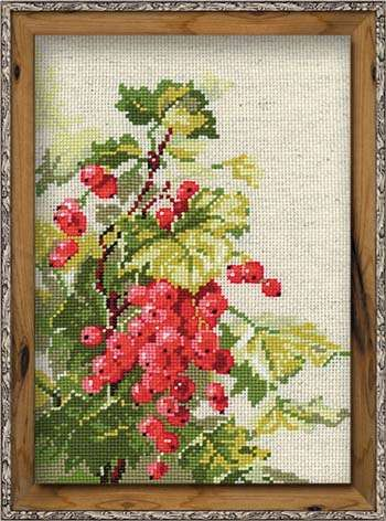 Набор для вышивания крестом Смородина №1060 фирма Риолис