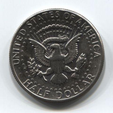 1/2 доллара 1971 года D США