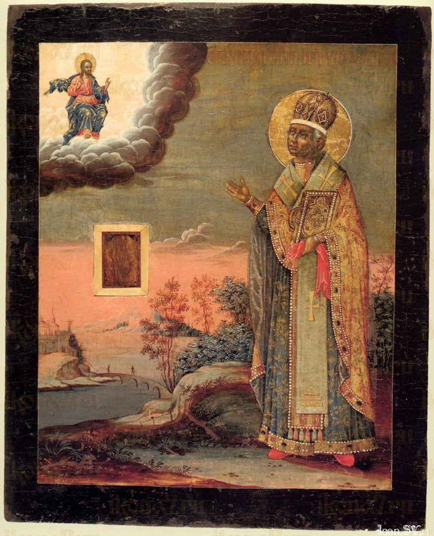 Икона Никита Затворник святитель