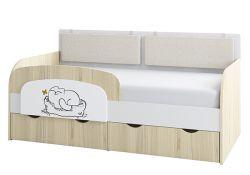 Детская кровать-тахта Аквилон Кот