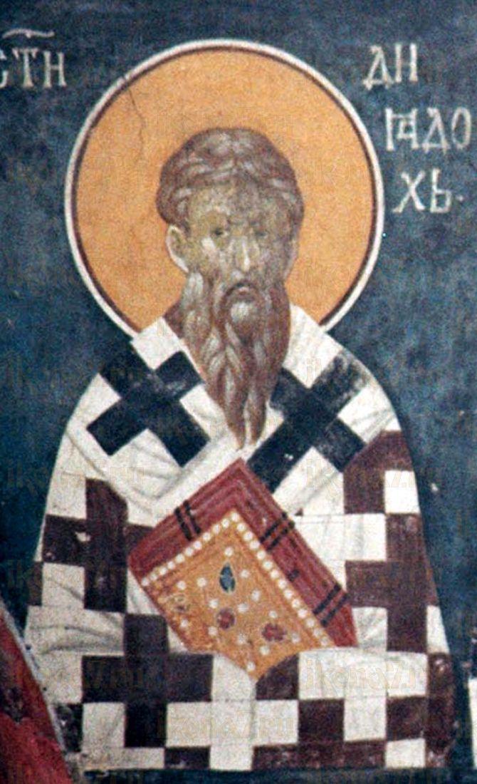 Икона Диадох Фотикийский святитель