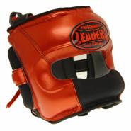 Шлем боксерский LEADERS Limited RD/BK с бамперной защитой