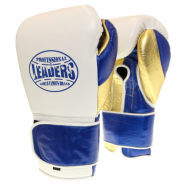 Перчатки боксерские LEADERS LeadSeries Limited WH/BL/GD