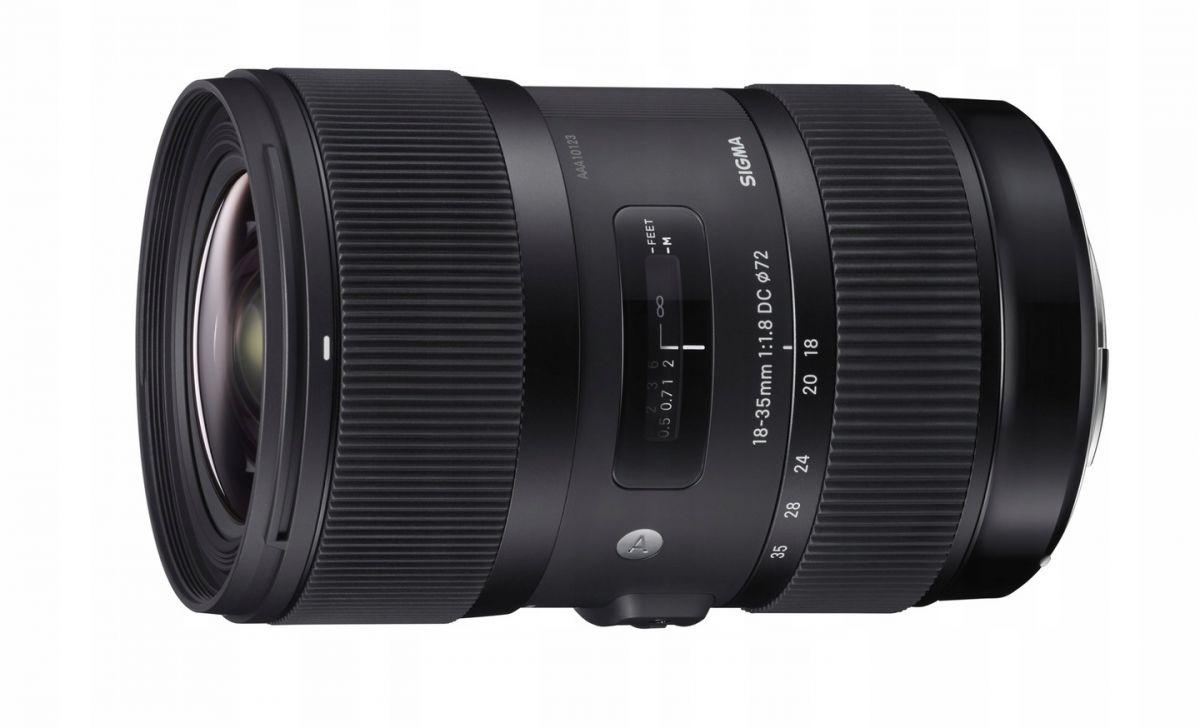 Объектив Sigma AF 18-35mm f/1.8 DC HSM Art Canon EF-S