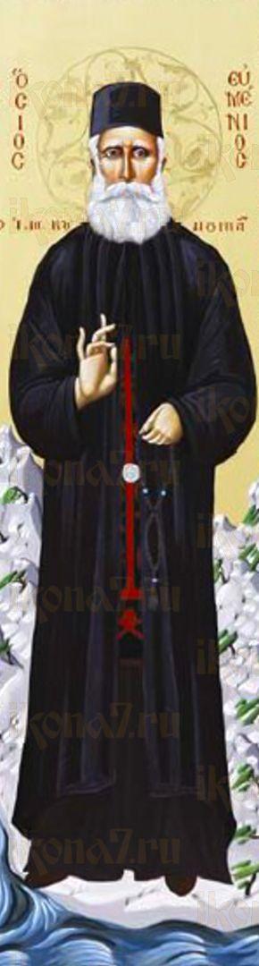 Икона Евмений Гортинский преподобный