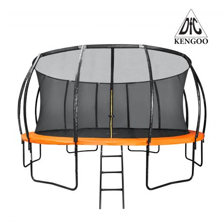 Батут DFC KENGOO Trampoline 16 футов,  с внутренней защитной сеткой