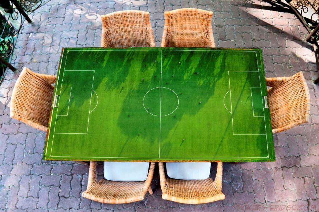 Наклейка на стол - Футбол