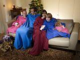 Одеяло-плед с рукавами Snuggle