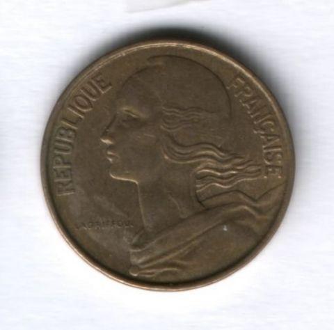 10 сантимов 1968 года Франция