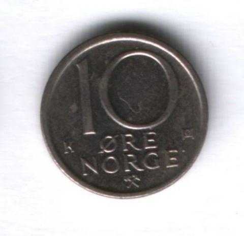10 эре 1984 года Норвегия
