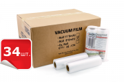 Коробка вакуумной пленки 28х500 см. ( 34 штук) www.sklad78.ru