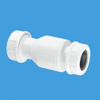 Обратный клапан (полимерный шарик) универсальный Ду=19-23ммхДу=19-23мм (компрессионное соединение)