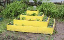 Клумба К- пирамида цвет К-120 К-80
