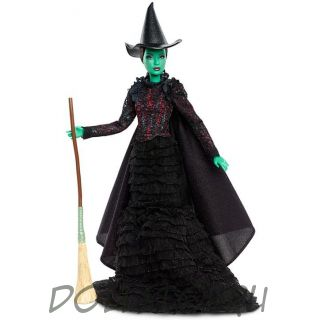 Коллекционная кукла Барби Злая ведьма Эльфаба -  Wicked Elphaba Barbie Doll