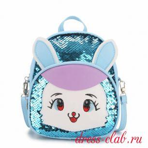 Рюкзак детский пайетки