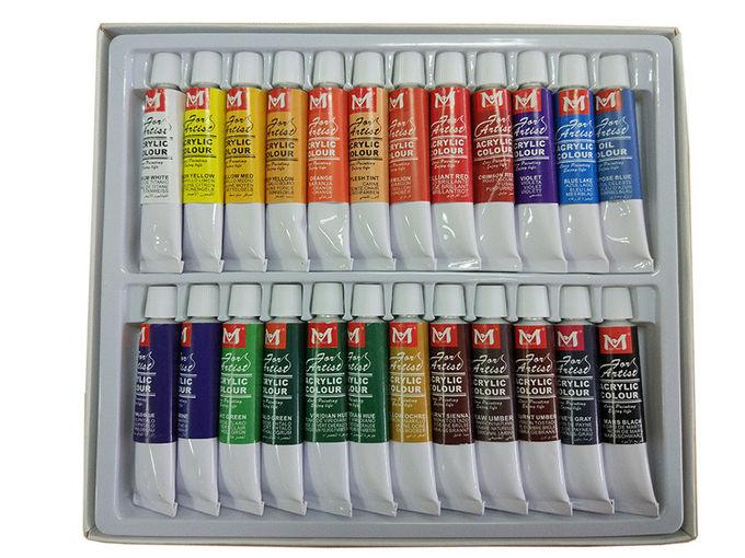 Набор акриловых красок ARTISTS 12мл/18цветов