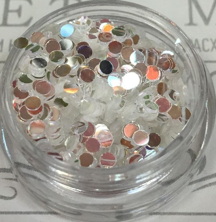 Монетки в баночке 2.5г цвет 19