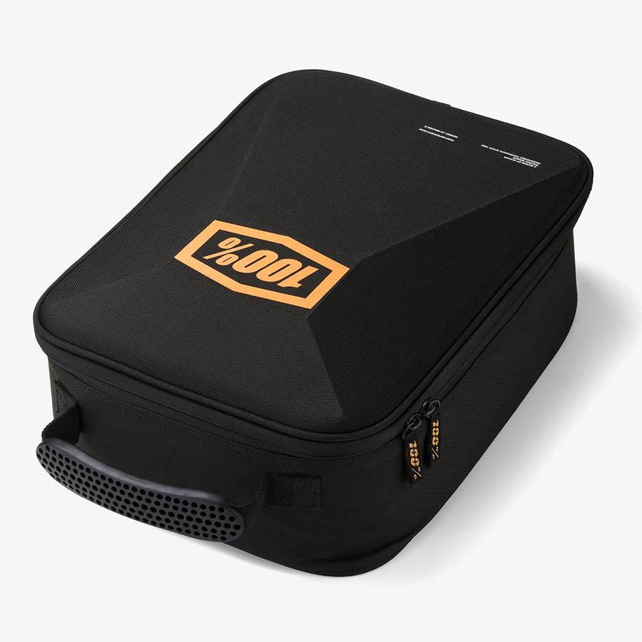 100% - Goggle Case Black/Bronze, сумка для хранения очков
