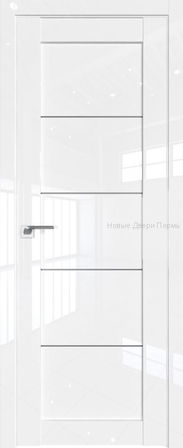 2.11L Белый люкс глянцевая дверь - PROFIL DOORS двери
