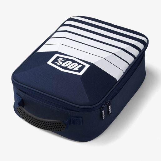 100% - Goggle Case Navy/White, сумка для хранения очков