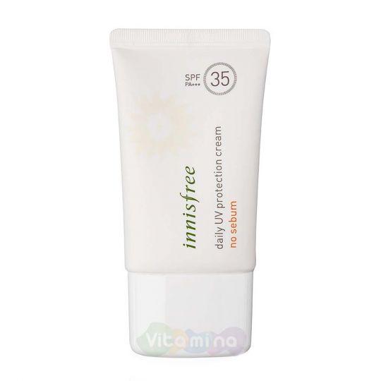 Innisfree Матирующий санблок Daily UV Protection Cream No Sebum SPF35/PA+++, 50 мл