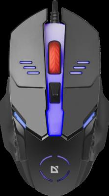 Проводная оптическая мышь Ultra Gloss MB-490 7цветов,4кнопки,800-1000dpi