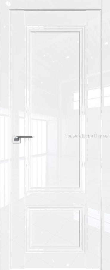 2.102 L Белый люкс глянцевая дверь - PROFIL DOORS двери
