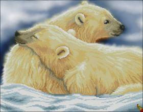Феникс Колибри. Полярные Мишки. А3 (набор 1875 рублей)