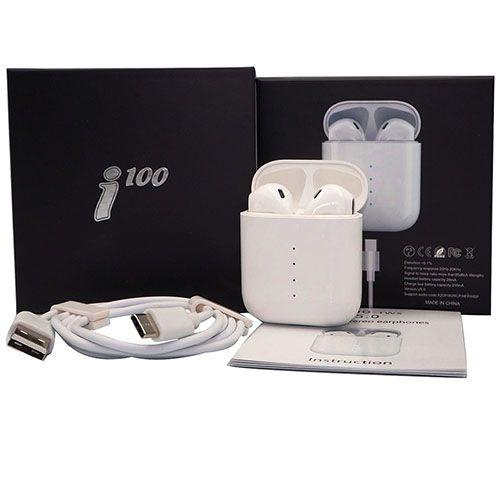 Беспроводные bluetooth наушники i100 TWS