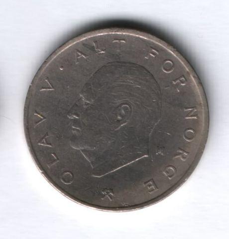 1 крона 1974 года Норвегия