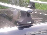 Багажник на крышу Volkswagen Polo Classic, Атлант, аэродинамические дуги