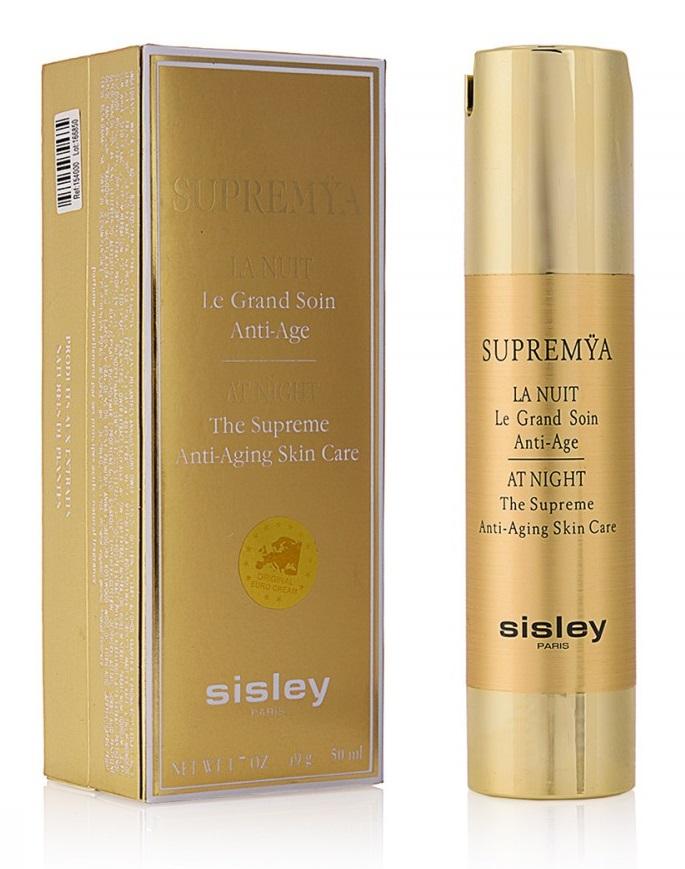 """Комплексный антивозрастной ночной крем-сыворотка Sisley """"Supremya"""" 50ml"""