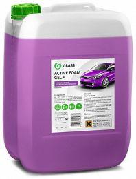 Шампунь для бесконтактной мойки Grass Active Foam Gel+ (20кг) цена, купить в Челябинске/Автохимия и автокосметика