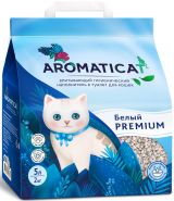 Aromaticat Наполнитель для кошачьего туалета, впитывающий белый, 10л
