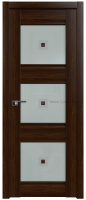 4Х орех Сиена - со стеклом - PROFIL DOORS межкомнатные двери